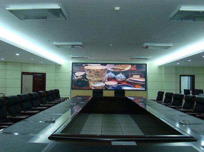 会议室智能触摸拼接墙图片